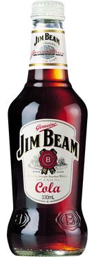 Jim Beam White Label Bourbon & Cola 330mL