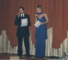 Con Ximo Rovira presentando Miss Valencia