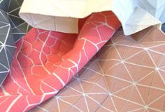 Folding a-part -a polymer material printed onto a variety of fabrics
