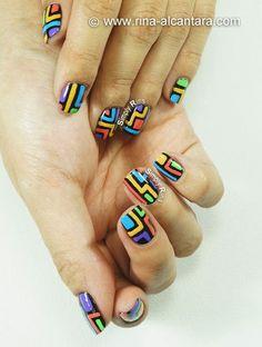 Crazy Nail Art Design