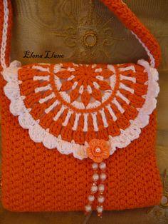 #bolsoniña #bolsocrochet Bolso crochet Raquel