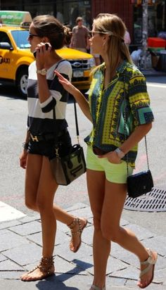 printed tops- casual outfits