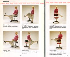 Stretch exercises for the office