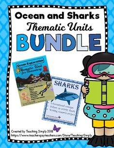 Two great units in one! Save $$$ when you buy the bundle. Students will learn all about the ocean and several different kinds of sharks through reading passages with comprehension questions, research reports, art activities and more! These two units go great together! All pages are pictured in the preview. #OceanUnitForElementary #OceanAnimals #Animals #ElementaryScience #Science Ocean Unit, Reluctant Readers, Thematic Units, Research Report, Comprehension Questions, Reading Passages, Shark Week, Elementary Science, Reading Resources