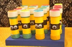 Despicable Me Minion Party Planning Ideas Supplies Idea Cake Decor Minion Party Supplies, Minion Party Favors, Minion Party Theme, Party Themes, Party Ideas, School Birthday Treats, Happy Birthday Kids, Minion Birthday, Birthday Ideas