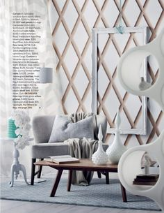 Large Diamonds - 3D Wall Panels