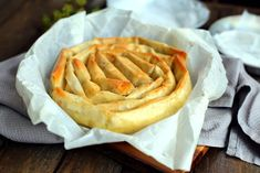 Burek Recipe, Gourmet Recipes, Vegan Recipes, Holiday Dinner, Winter Holiday, Fish And Seafood, Chutney, Apple Pie, Food Print