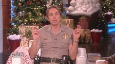 Dax Shepard's Explanation of Santa Claus to His & Kristen Bell's 2-Year-Old Daughter Is Hilarious Dax Shepard, The Ellen DeGeneres Show