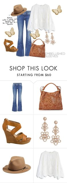 """Pretty 2"" by buzzbee-585 ❤ liked on Polyvore featuring Pepe Jeans London, Isabella Fiore, Seychelles, Kate Spade, rag & bone and Chicwish"