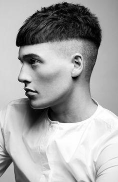 coupe de cheveux homme au bol