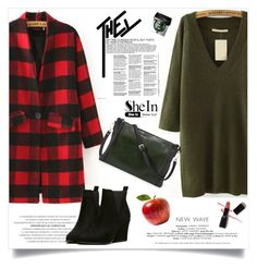 """""""SheIn"""" by aurora-australis ❤ liked on Polyvore featuring Bobbi Brown Cosmetics, Armani Privé and Sheinside"""