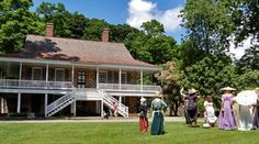 VAN CORTLANDT MANOR. At Van Cortlandt Manor, explore the stone manor house and brick ferry house, wander through the heritage gardens, and stroll down a quiet country road along the Croton River.