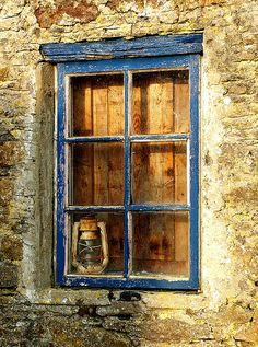 The Blue Window. By Joe Cashin