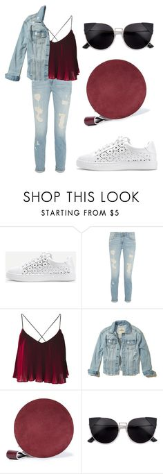 """Untitled #56"" by bettina-agoston on Polyvore featuring WithChic, Hollister Co. and Diane Von Furstenberg"