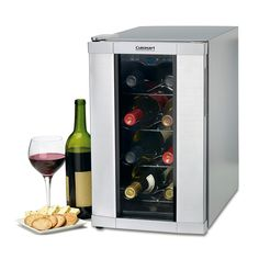 "Cuisinart ""Private Reserve"" 8-Bottle Wine Cellar 