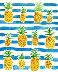 PRINTS | pineapples