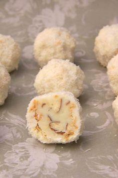 ferrero raffaello white chocolate coconut balls clone recipe