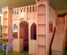 Camas infantiles de princesas en Querétaro imagen 8