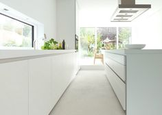 Siematic keuken 2013  keukenblad wit