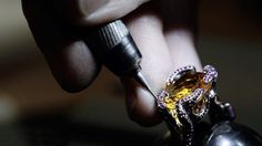 The Making of The Flame Ring by Stephen Einhorn London - British Fine Je...