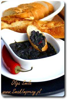 Pasta z oliwek - przepis | Kulinarne przepisy Olgi Smile