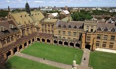 University of Australia-It is awesome. I read that it has a nice view and is appealing to the eye to new audiences.
