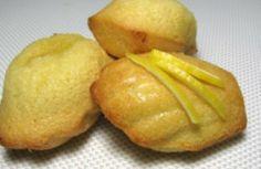 Recette - Madeleines au citron sans gluten - Notée 4.2/5 par les internautes