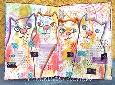 froebelsternchen: Post No. 2158 ◘◘◘ Summer- CATS