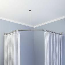 shower curtain slanted ceiling - Google Search