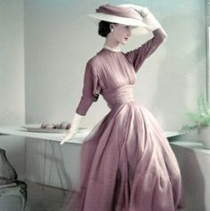 Evelyn Tripp - Vogue 1950's