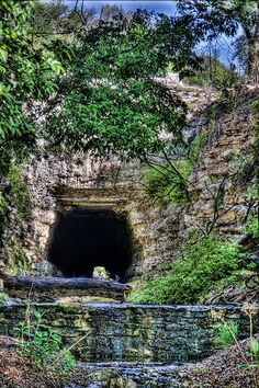 #Texas Hill Country  This abandoned #Fredericksburg  San Antonio railroad tunnel is now home to a large colony of bats. Have you been here? Did you see the bats or the largest array of rural mailboxes in the world just up the road? How bout the ghost town!