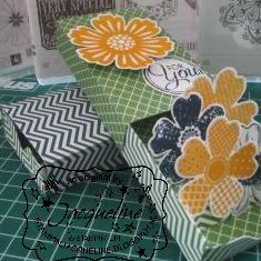 Stampin Jacqueline stap voor stap match box