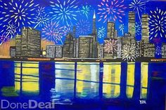 'Celebrate New York, Your Spirit Will Never Die' by outsider artist Eamon Reilly from Westmeath see www.eamonreilly.com Acrylics on a stretched canvas, 50cm by 70cm,#xtor=CS1-41-[share]