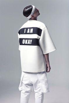 ⚪️ I am OKay #styling