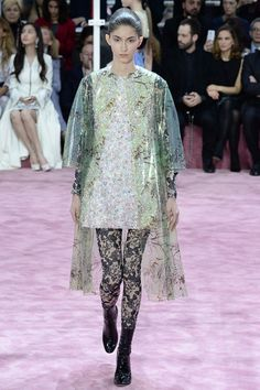 Bring on the April showers! Christian Dior - Spring 2015 Couture - Look 24 of 55