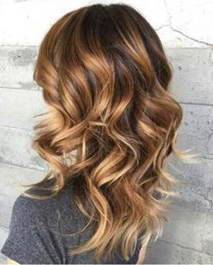 Hair color caramel, Caramel hair, Hair color, Hair styles Tiger eye hair, Hair color balayage - Marvelous ideas for your caramel hair color LoveHairStyles - Hair Color Balayage, Ombre Hair, Bronde Bayalage, Copper Balayage Brunette, Copper Blonde Balayage, Brunette Ombre, Brunette Color, Brunette Hair, Cabelo Tiger Eye