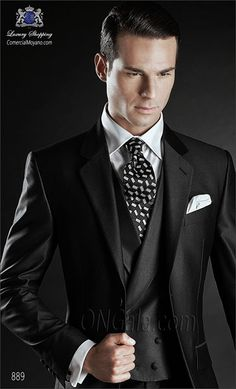 Traje de novio negro 889 ONGala Wedding suit