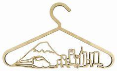 HookPegSupport - CityScape Coat Hangers