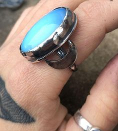 Made to order opalite ring