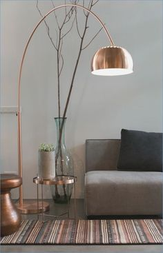 6 Graceful Cool Tips: Natural Home Decor Ideas Apartment Therapy natural home decor living room interior design.Natural Home Decor Rustic Stones natural home decor rustic ceilings.Natural Home Decor Diy Etsy. Arc Floor Lamps, Modern Floor Lamps, Corner Floor Lamp, Modern Ceiling, Living Room Flooring, Natural Home Decor, Living Room Lighting, Living Room Floor Lamps, Copper Living Room Decor