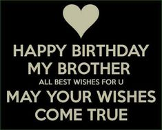 Happy birthday bro card to your fun and quirky brother this wishes quote for brother and happy birthday wishes for brother and wonderful cards m4hsunfo Gallery