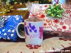 Homemade Gift Ideas–Personalized Coffee Mug | Fun Home Things