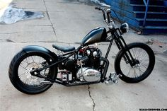 yamaha xs 650 by ardcore choppers in indianapolis.