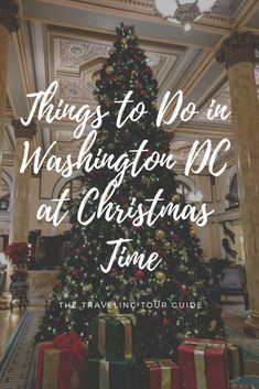 Read our top things to do in Washington DC at Christmas time! From ice skating to museums, learn about the best holiday activities in the capital city! Christmas In Dc, Christmas Things To Do, Best Christmas Markets, Christmas Travel, Christmas Vacation, Holiday Travel, Washington Dc With Kids, Washington Dc Vacation, Christmas Destinations