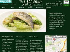 The Magnum Bar and Restaurant in Edinburgh