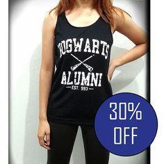 Hogwarts Alumni Shirt Bekleidung Harry Potter Tank von DummyShirt
