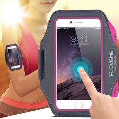 Universal Durable Sports Running Waterproof Leather Arm Band Case For Samsung Galaxy S3 S4 S5 S6 edge s7 edge s6 Edge Plus S8