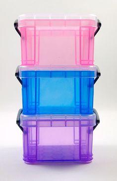 Barbie Plastic Storage Boxes
