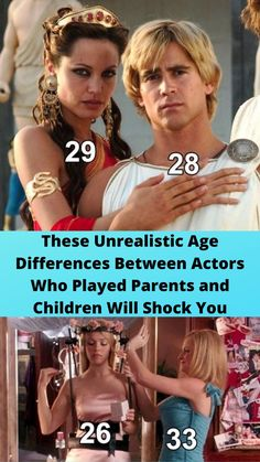 These #Unrealistic Age #Differences Between Actors Who Played #Parents and Children Will #Shock You