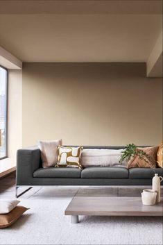 Lounge Colour Schemes, Warm Color Schemes, Interior Color Schemes, Room Wall Colors, Living Room Colors, New Living Room, Living Room Decor, House Paint Interior, Interior Design Living Room